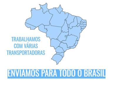ENVIAMOS PARA TODO O BRASIL